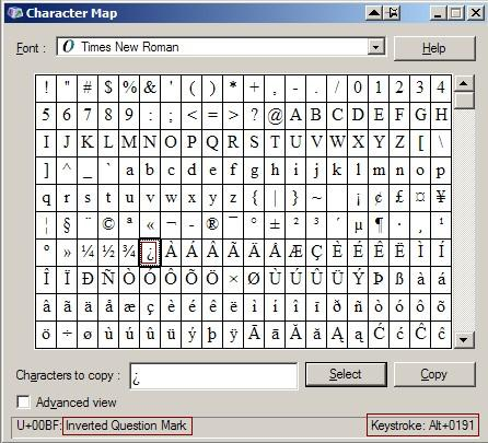 Accent Marks And Diacriticals Alt Number Combinations Alt Num Alt Key