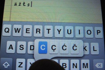 how to change the language on my ipad keyboard