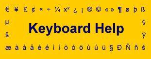 Logo for Keyboard Help